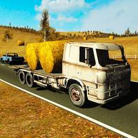 Desert Cargo Trailer Transporter Truck