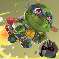 Super Turtle Jetpack Runner
