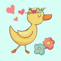 Lovely Duckling - Stickers