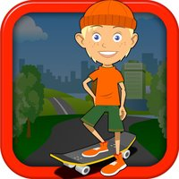 Kid Skater Dual Jumper Rush - Fast Action Collecting Game