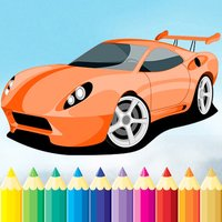 赛车运动图画书 - 绘画车辆游戏高清,都在1系列免费为儿童