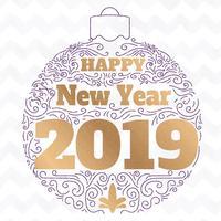 Happy New Year 2019 - Animated