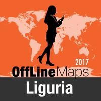 Liguria Offline Map and Travel Trip Guide