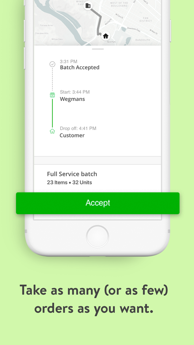 Instacart Shopper App for iPhone - Free Download Instacart