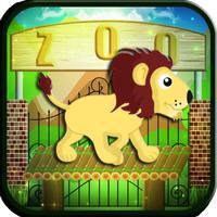 Zoo Safari Tiger Crossing Mini Game - The Story of Cute Animal Friends