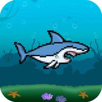 Flying Jumpy Shark - Flapping Bird Fish Wings Flyer