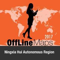 Ningxia Hui Autonomous Region Offline Map and
