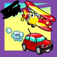 A Kids Game: Animated Car Puzzle-s in the City