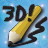 Draw 3D: a magical sketch tool