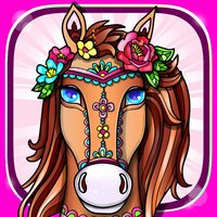 Magic Pony Coloring Book for Adults My Little Art