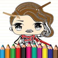 Sweet Jojo Coloring Book