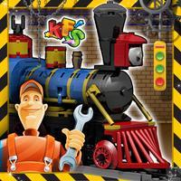 Train & Engine Factory- Crazy Mechanics Garage