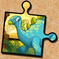 Dinosaur Jigsaw Puzzle - Magic Board Fun for Kids