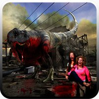 City Dino Chase Sim 3D : Free Play Game 2016