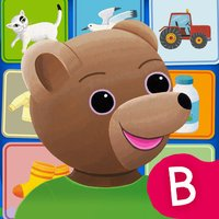 My first english words with Little Brown Bear for kids 2 to 5