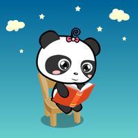 熊猫乐园故事-原创素质教育好习惯故事