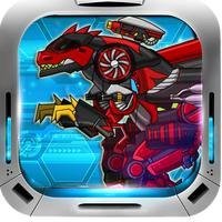 恐龙世界 - 机械暴龙拼图益智游戏