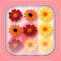Burst Flower Bubble Pop: Garden Match Board