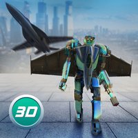 Evil Mutant Robot Plane Attack
