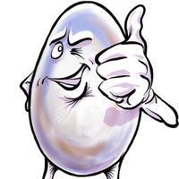 Egg-Boy Stickers