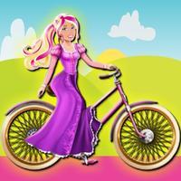 Sara Rides Bike
