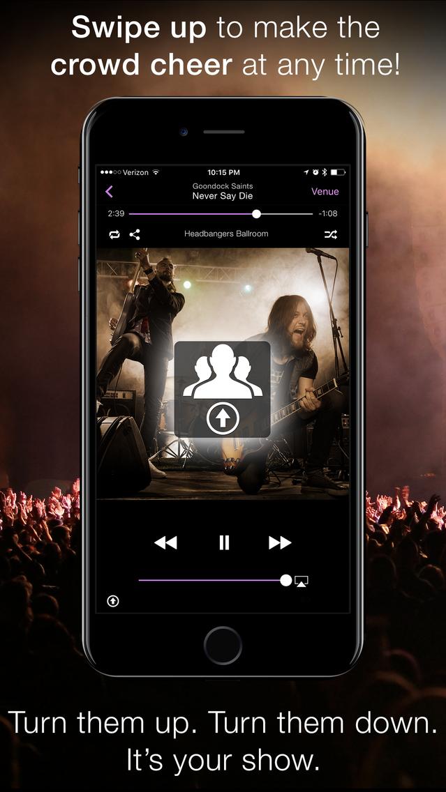 LiveTunes - Concert FX Player App for iPhone - Free Download