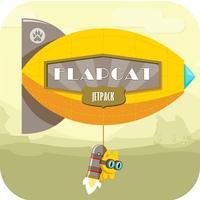 Jetpack Flappy Cat