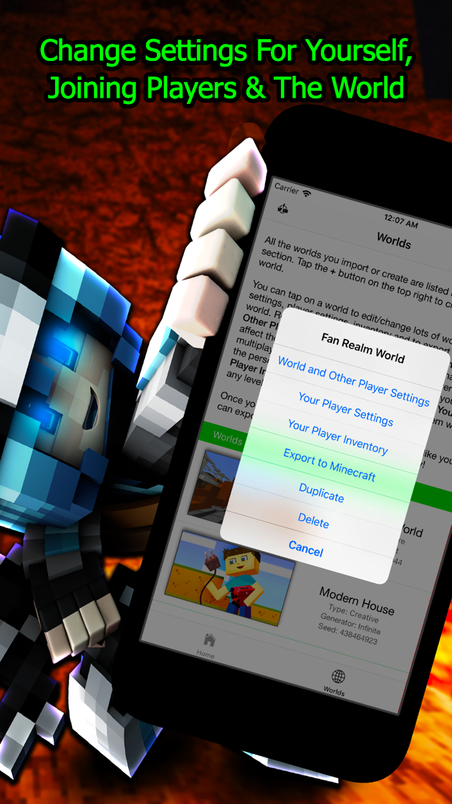 Plug Toolbox for Minecraft App for iPhone - Free Download Plug