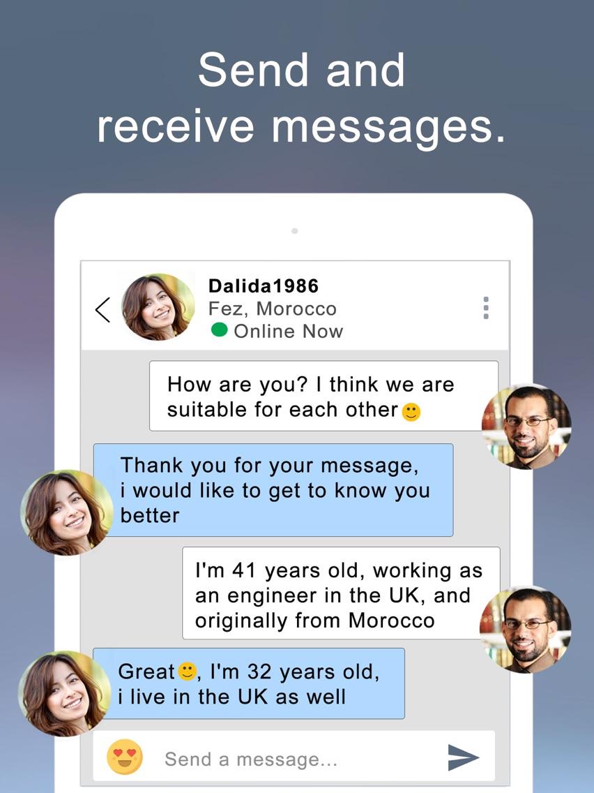 buzzArab Arab & Muslim Dating App for iPhone - Free Download