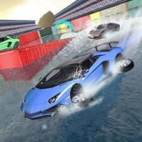 Water Car Surfer Stunt