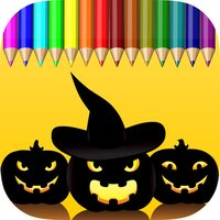 Coloring Book Happy Halloween Free Game For Kids