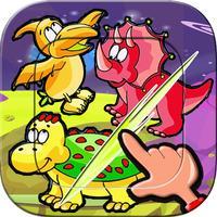 Dino sport mix matching game