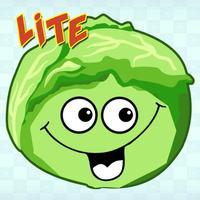 Весёлые овощи. Развивающие игры для детей. Lite