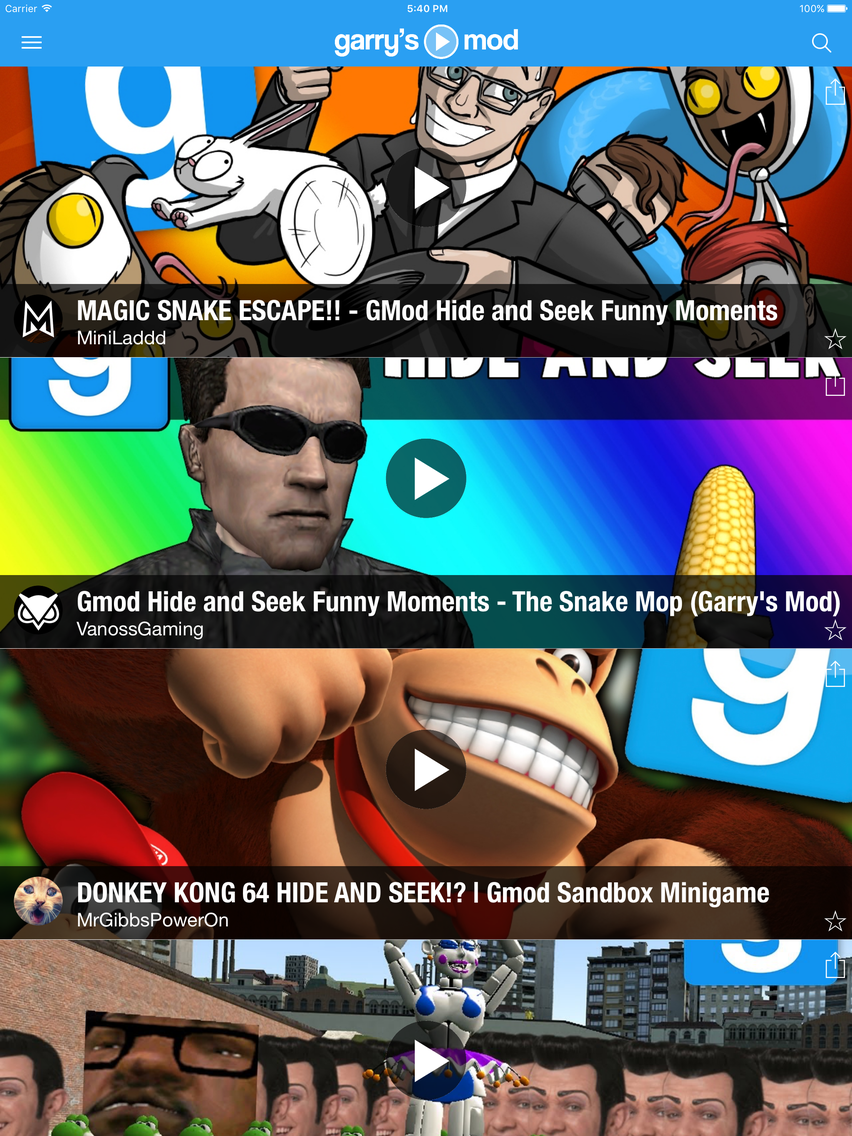 Gmod tube - Best Videos for Garry's Mod App for iPhone