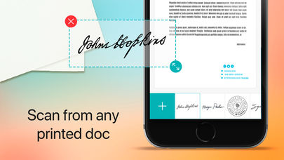 Sign and Stamp App for iPhone - Free Download Sign and Stamp