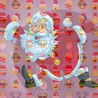 Christmas Emoji Mosaic Camera
