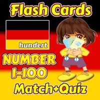 Flashcards and Games Of Number 1 - 100 German