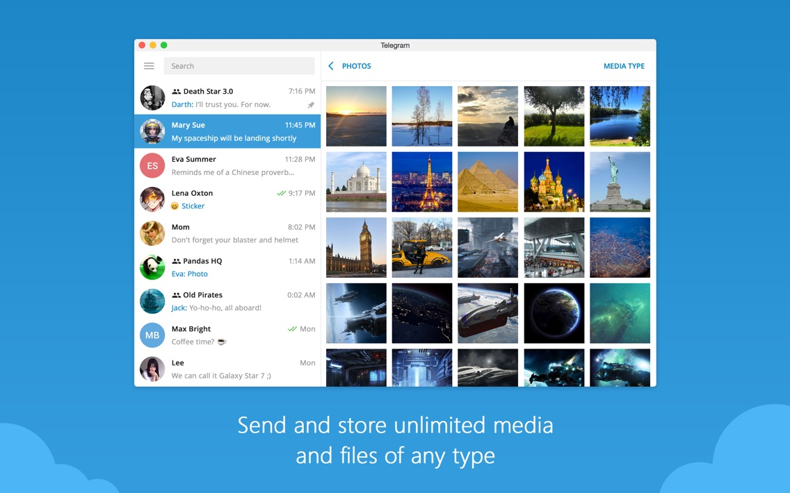 Telegram Desktop App for iPhone - Free Download Telegram