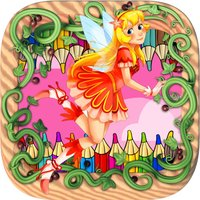 fairy kingdom coloring book free