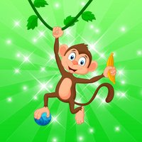 Pop Monkey Bubble Shooter - Popping Puzzle Game