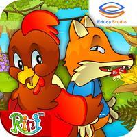 Ayam Jantan dan Rubah Licik - Cerita Anak Interaktif