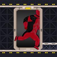 Superhero Game - Red Hero Escape