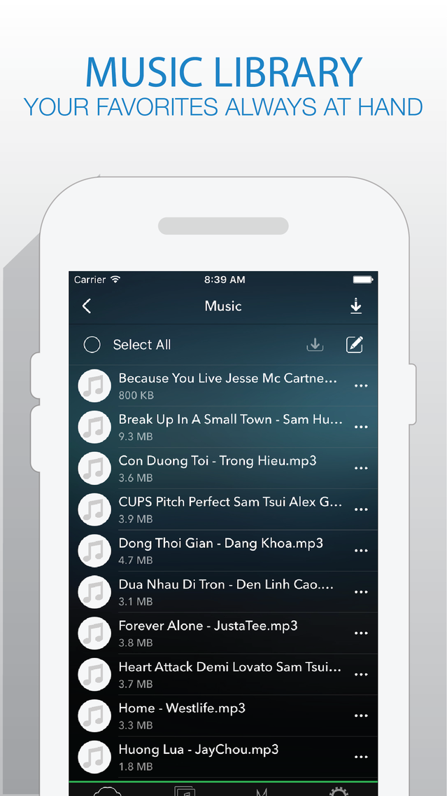 Katrina Music - Music Player For Cloud Platforms from Box