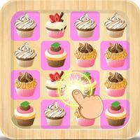 Cupcake cookie match mania