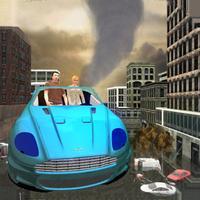 Hurricane Survival: Scifi Car