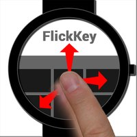 FlickKey Mini Watch-sized Keyboard (Email & SMS)