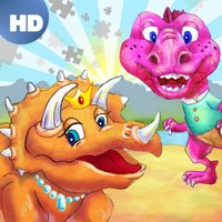 Dinosaur Kingdom Color Puzzle HD ™