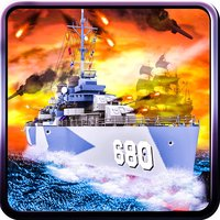Caribbean Naval Fleet Hit Pirate Ships - 3D War