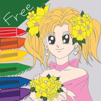 my anime princess coloring pages colouring book