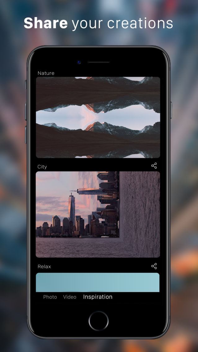 Mirror - Photo & Video Editor App for iPhone - Free Download
